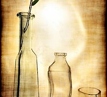 Still life with bamboo leaf by andreisky