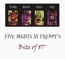 Five Nights at Freddy's: Bite of 87' T-Shirt