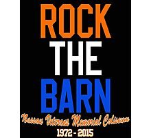 Rock the Barn!  Photographic Print