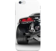 Audi Quattro R8 Turbo sports car rear view with exposed engine art photo print iPhone Case/Skin