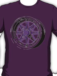 Purple and Black Rim T-Shirt