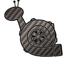 Carbon Fibre Turbo Snail by fadouli