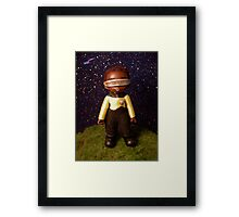 Chibi Chief Engineer Framed Print