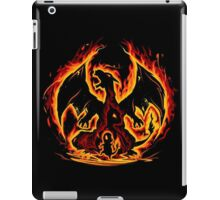 Charizard fire evolutions cool design iPad Case/Skin