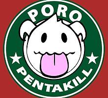 Poro Pentakill - League of Legends by Geeksetas
