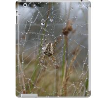 Dew Drops Spider Web iPad Case/Skin