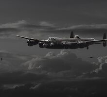 Lancaster - 'No more......bomber's moon' by warbirds