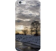 Broken Ice, Broken Clouds iPhone Case/Skin