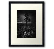 On the wrong side of the lake 3 Framed Print