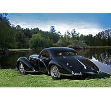 1938 Talbot-Lago T150 C Speciale Tear Drop Coupe I Photographic Print