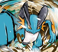 Swampert | Muddy Water by ishmam