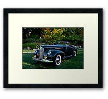 1941 Packard Darrin Model I80 II Framed Print