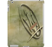 Maserati The Trident iPad Case/Skin