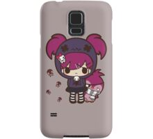 PASTEL GOTH GIRL WITH PENGUIN Samsung Galaxy Case/Skin