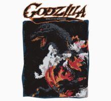 Godzilla Burning by UniversalShirts