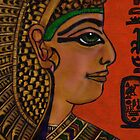 NEFERTARI - BELOVED OF MUT by Mariaan M Krog Fine Art Portfolio