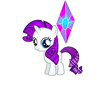 Special Destiny - Rarity Filly Photographic Print