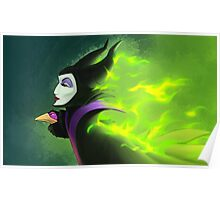 Maleficent - Beautifuly Burning Poster