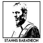 Stannis Baratheon Inspired Artwork 'Game of Thrones' by ComedyQuotes
