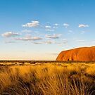 Uluru Sunset by Dieter Tracey