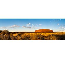 Uluru Sunset Photographic Print