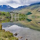 Buttermere Reflections by Trevor Kersley