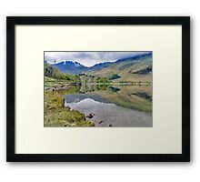 Buttermere Reflections Framed Print