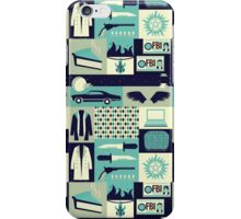 Carry on my wayward son iPhone Case/Skin