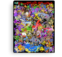 151 POKEMON Canvas Print