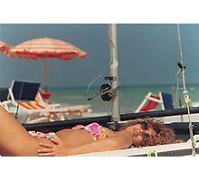 il costume da bagno.....il mare...la libertà.... Photographic Print