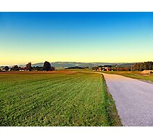 Autumn afternoon in the countryside | landscape photography Photographic Print