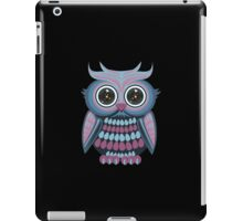 Star Eye Owl - Blue Purple 2 iPad Case/Skin