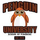 Penguin University - Brown by Adamzworld