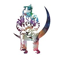 Astronaut Multi-color Design by Foxboxes