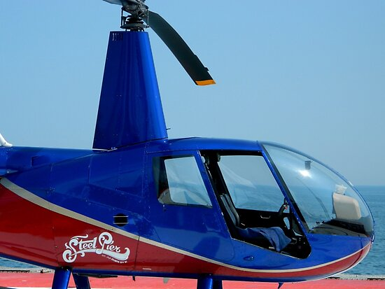 Steel Pier Copter Ride by ctheworld