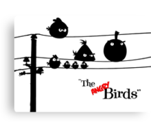 Hitchcock´s The angry Birds Canvas Print