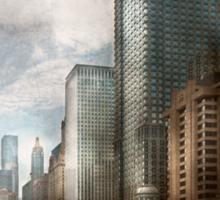 City - Chicago, IL -  Building a new city Sticker