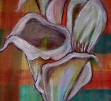 Arum Lilies in Watercolours by Mariaan M Krog Fine Art Portfolio