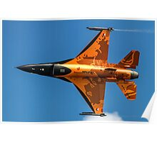 Dutch F-16 2012 Solo Demonstrator Poster
