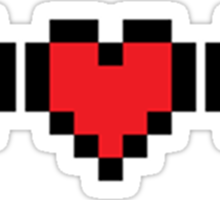 Zelda Heart Container Sticker