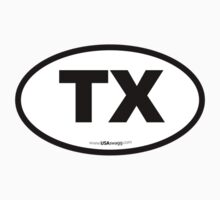 Texas TX Euro Oval  by USAswagg2