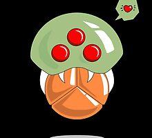Metroid love SaMus by RedSolar