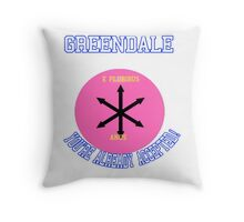 Welcome To Greendale! Throw Pillow