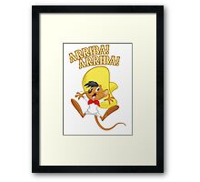 Funny is speedy gonzales new t-shirt Framed Print