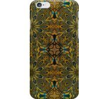 Kaleidoscope flowers in attractive colors iPhone Case/Skin