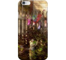 Garden - Zoar, OH - Ready for rain iPhone Case/Skin