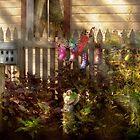 Garden - Zoar, OH - Ready for rain by Mike  Savad