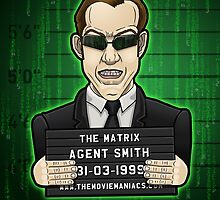 Agent Smith - The Matrix by TheMovieManiacs