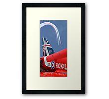 The Reds - 50 Display Seasons - Farnborough 2014 Framed Print