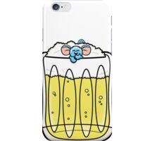 HeinyR- Blue Mouse Drunk iPhone Case/Skin